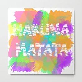 Hakuna Matata 2 Metal Print