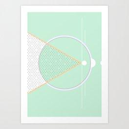 Geometric Calendar - Day 4 Art Print