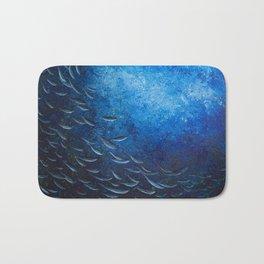 Deep Blue Bath Mat
