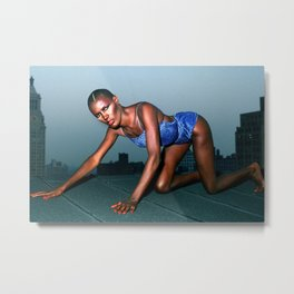Grace Jones Metal Print
