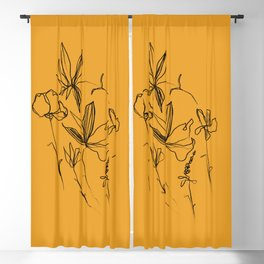 Remember The Small Joys Of Spring Blackout Curtain