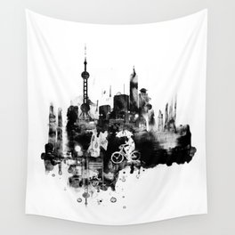 When it rains Wall Tapestry