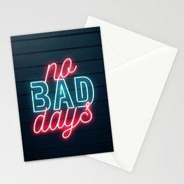 No Bad Days Stationery Cards