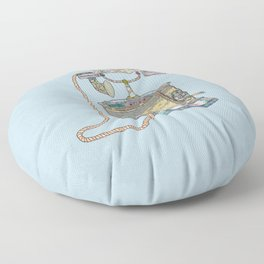 waiting for your call since 1896 Floor Pillow