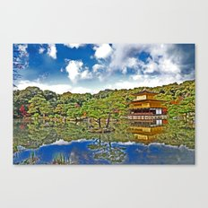 Serenity in Japan Canvas Print