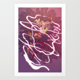 Capulet and Shotgun Art Print