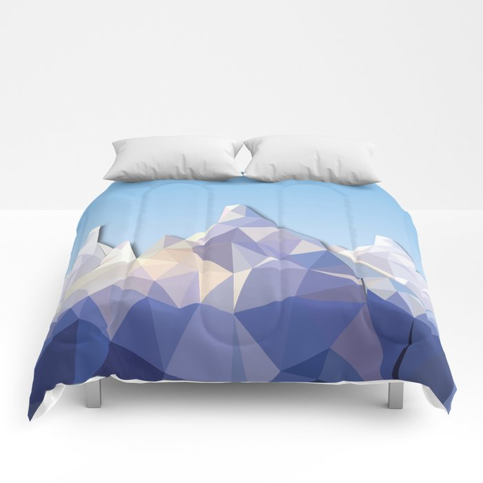 Night Mountains No. 37 Comforters