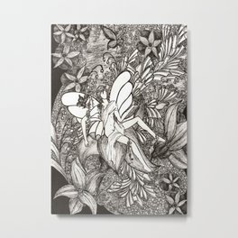 Butterfly king Metal Print