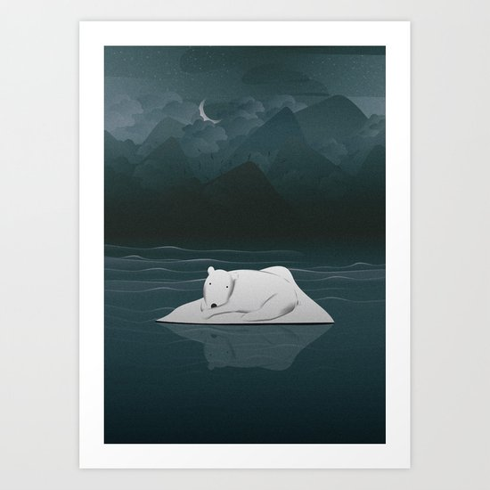 Dreams Made Me Lost Art Print