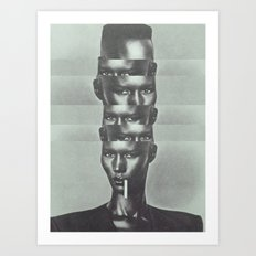 GRAAACE JONES Art Print