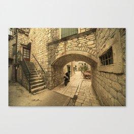 Trogir Arch  Canvas Print