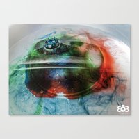 crown Canvas Prints featuring Crown by 303 Photography