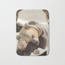 Sweet dreams, Mr Bear Bath Mat
