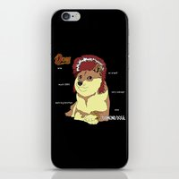 doge iPhone & iPod Skins featuring Diamond Doge by merimeaux