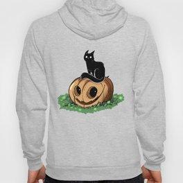 Pumpkin Cat Halloween, Black Cat Pumpkin Shirt, Halloween Shirt, Black Cat, Scarry Cat, costume idea Hoody
