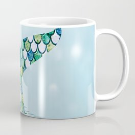 Mermaid Tail Blue Dreamy Sea Coffee Mug