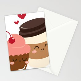 coffe love Stationery Cards