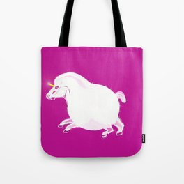 Fat Unicorn Tote Bag