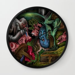 """Sea Bottom Life"" Wall Clock"