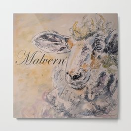 Malvern Lamb Metal Print