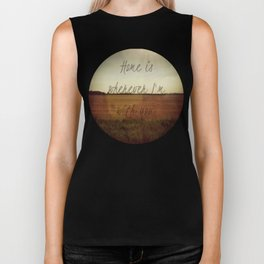 Home is Wherever I'm With You Biker Tank