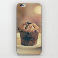 cupcake iPhone & iPod Skins featuring Cupcake  by Caroline Mint