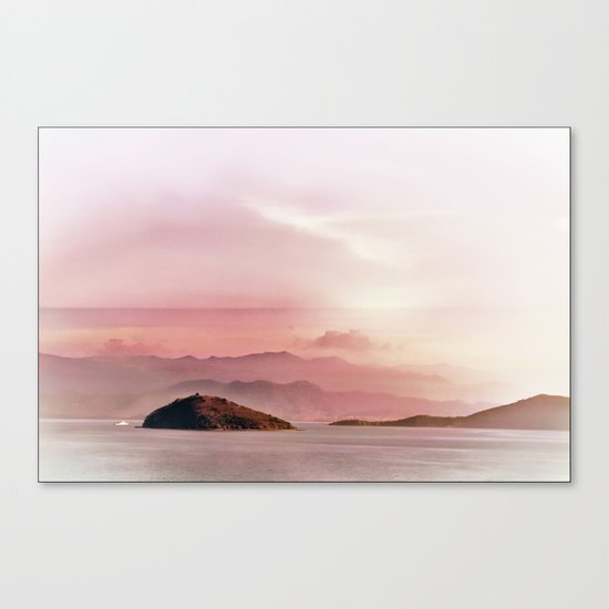 Islands in the distance Canvas Print