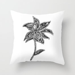 Girl From the North Country  Throw Pillow