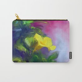 The Yellow Mandevilla Flower 2 Carry-All Pouch