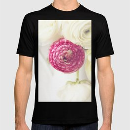 Pink Ranunculus 2 T-shirt