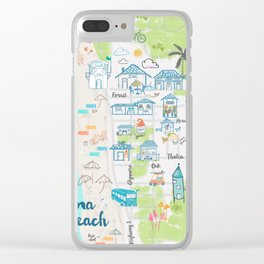 Laguna Beach Clear iPhone Case