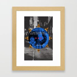 Lauryn Hill tribute  Framed Art Print