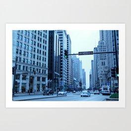 Chicago Focus Art Print
