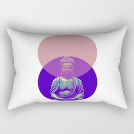 Geometric Buddha Rectangular Pillow