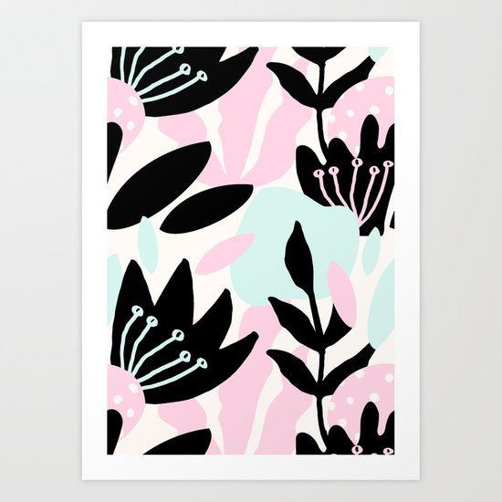 Flora 1 Art Print