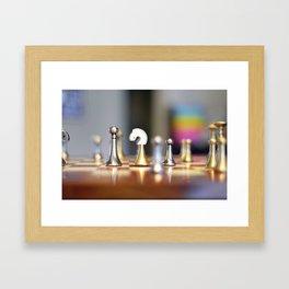 Chessmen Framed Art Print