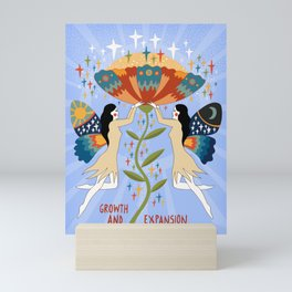 Growth and expansion Mini Art Print