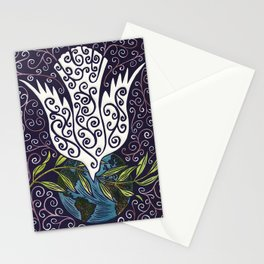 Peace on Earth Dove Stationery Cards