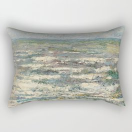 The Sea near Katwijk, Jan Toorop, 1887 Rectangular Pillow