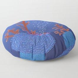 Balloon fish Floor Pillow