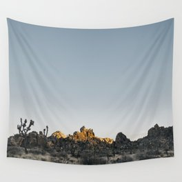 Fading Sun in Joshua Tree Wall Tapestry