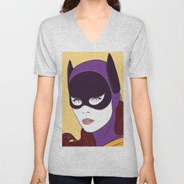 60s Batgirl Unisex V-Neck