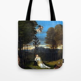 Lorenzo Lotto Allegory of Chastity Tote Bag