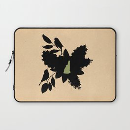 New Hampshire - State Papercut Print Laptop Sleeve