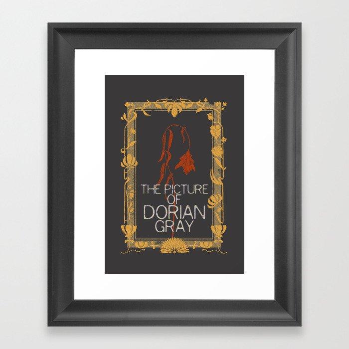 BOOKS COLLECTION: Dorian Gray Framed Art Print
