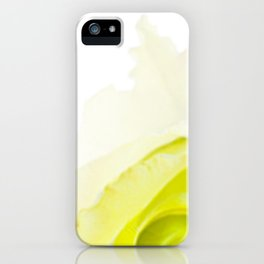 Green Rose iPhone Case
