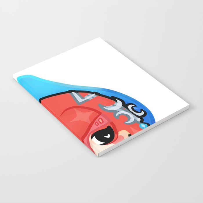Mipha Medal (BOTW Medals) Notebook by eilh_art