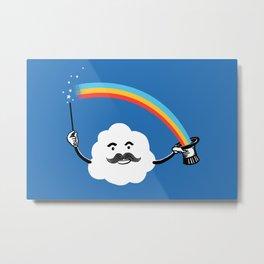 Magic Rainbow Metal Print