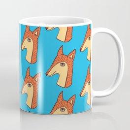 Fox pattern Coffee Mug