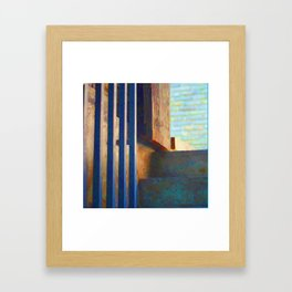 Up and Out Framed Art Print